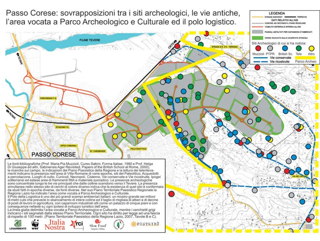 Mappa archeologica
